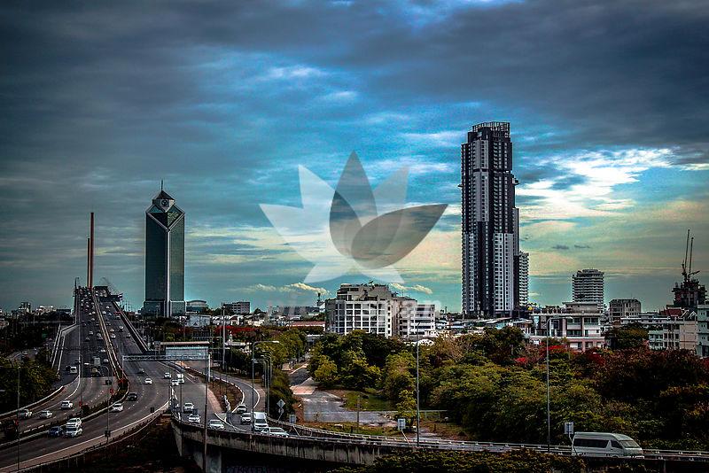 BANGKOK CITY - Royalty free stock photo, image