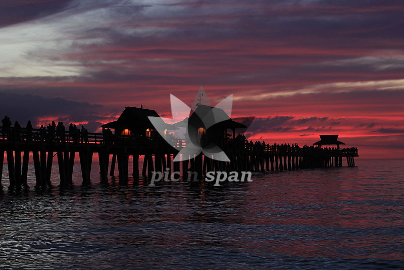 purple skies - Royalty free stock photo, image