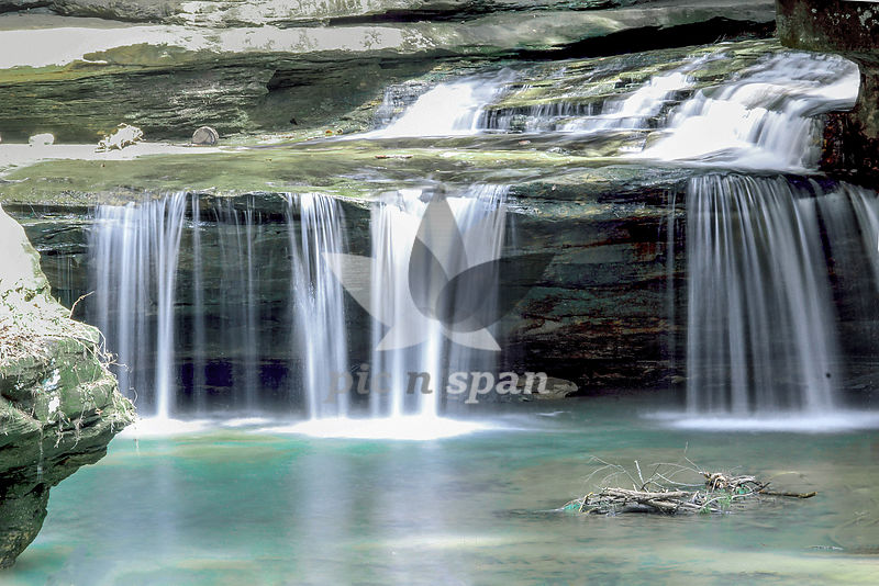 Waterfall - Royalty free stock photo, image