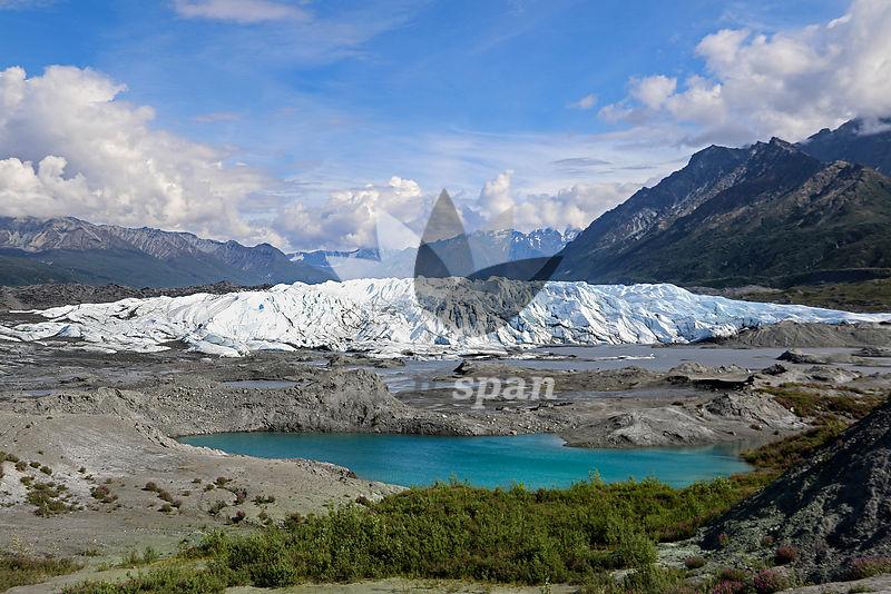 Glacier - Royalty free stock photo, image