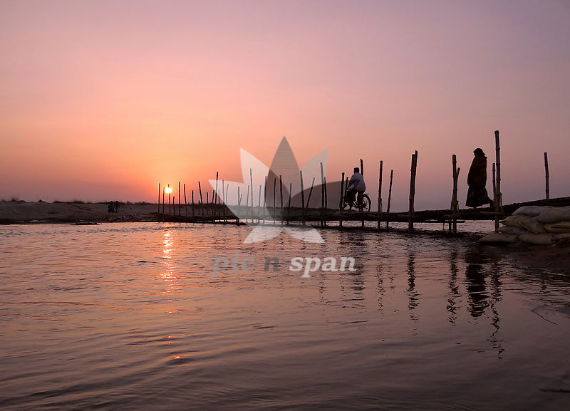 The Last Crossing  - Royalty free stock photo, image