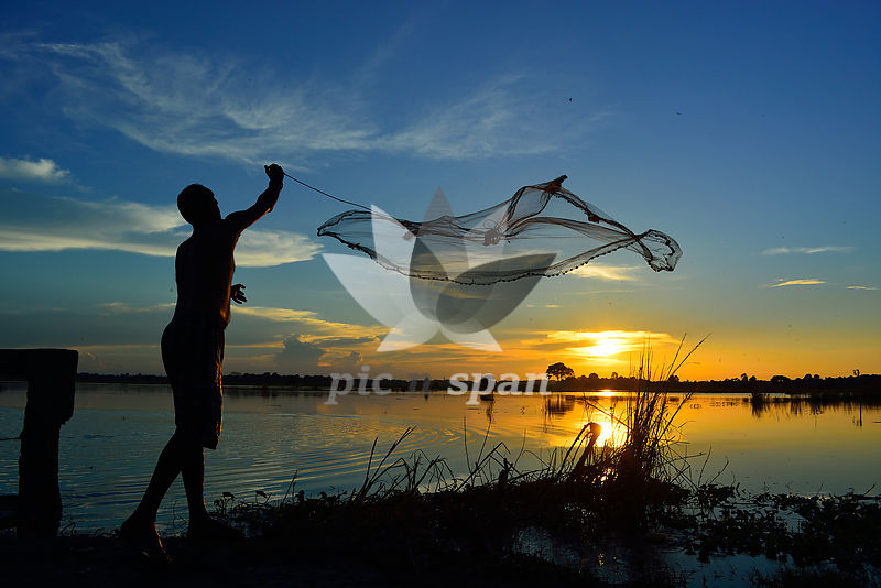 Catch The Sun - Royalty free stock photo, image