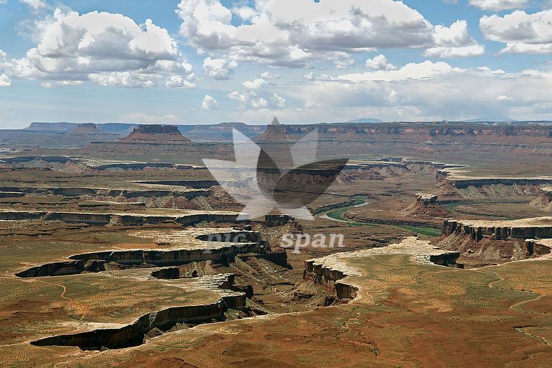 Canyon landscape  - Royalty free stock photo, image