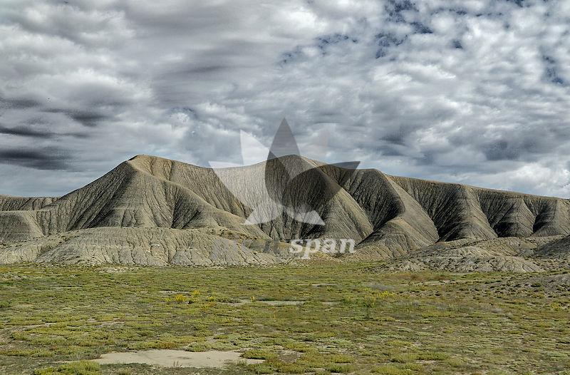 Fold Mountain - Royalty free stock photo, image