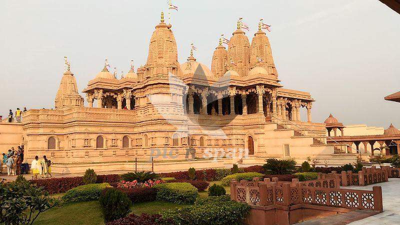 Swami Narayan Temple - Royalty free stock photo, image