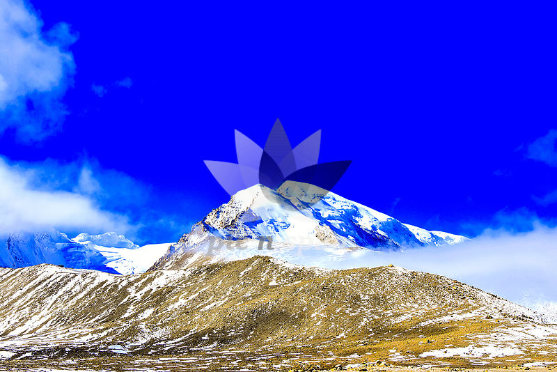 Gurudongmar - Royalty free stock photo, image