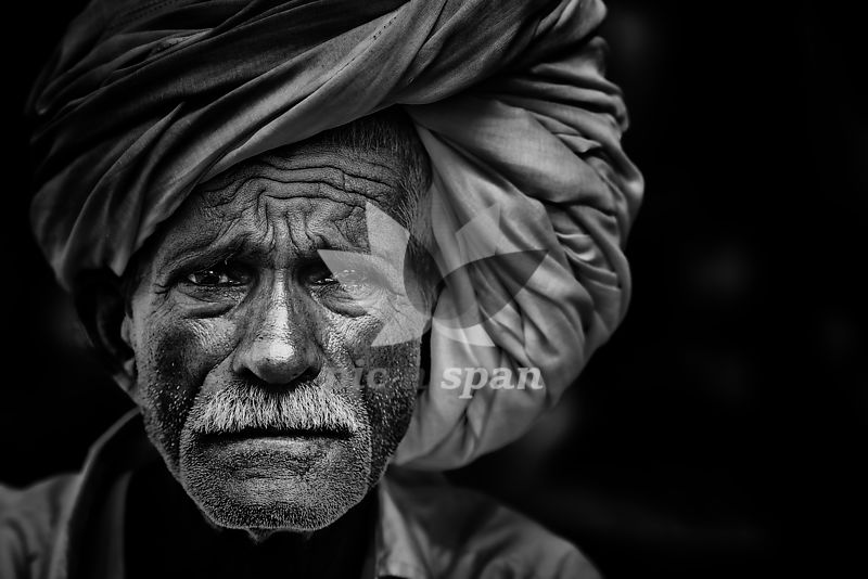 Street Portrait - Royalty free stock photo, image