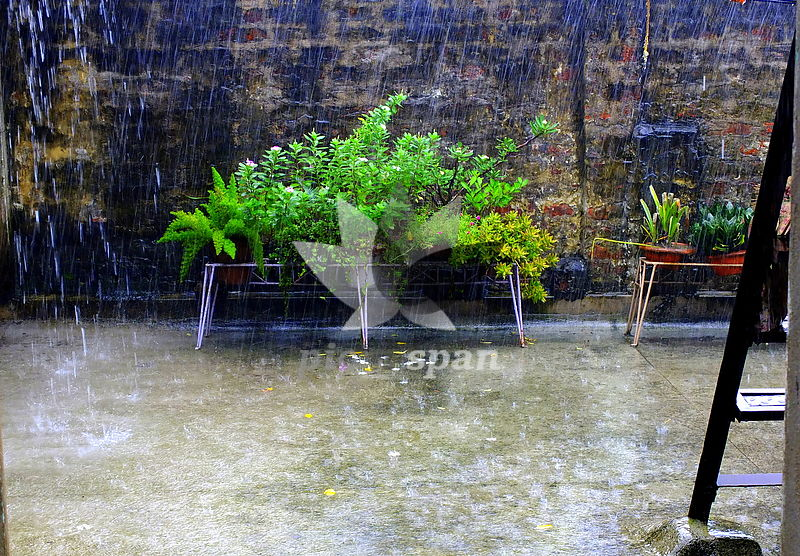 BK7 - monsoons - Royalty free stock photo, image