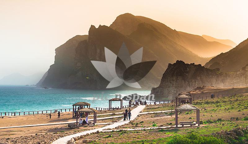 Peaceful Dusk - Royalty free stock photo, image