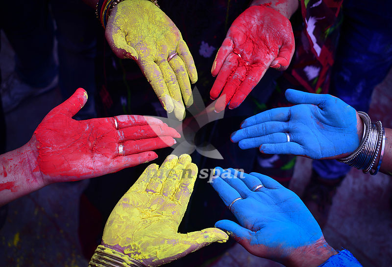 Colours of india - Royalty free stock photo, image