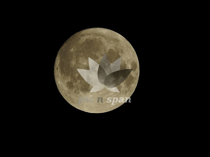 Full Moon - Royalty free stock photo, image