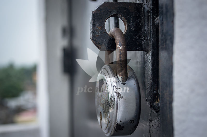 Lost the key - Royalty free stock photo, image