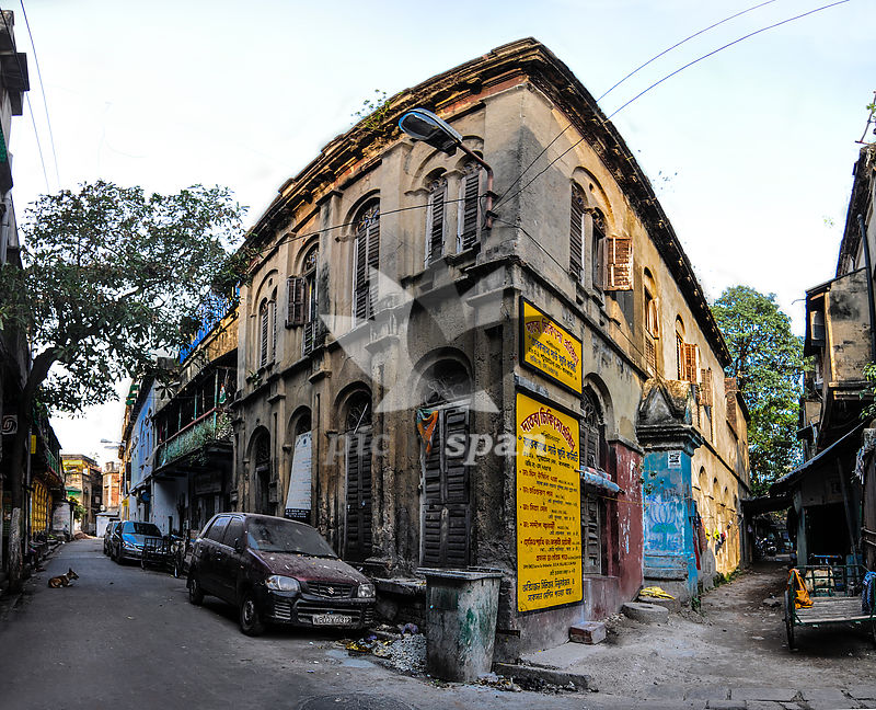 Old Calcutta - Royalty free stock photo, image