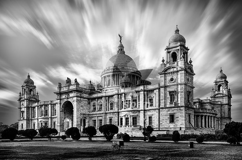 Beauty of Victoria Memorial - Royalty free stock photo, image