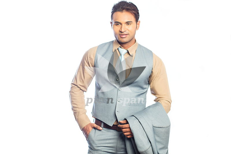 Young Man - Business Attire - Royalty free stock photo, image