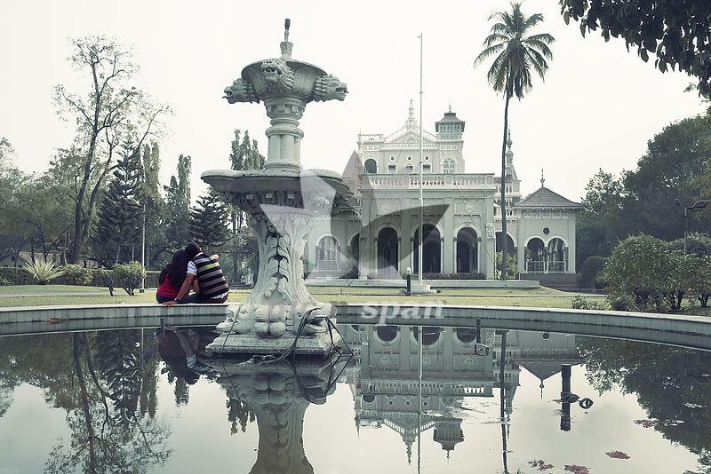 Dreamy aga khan palace - Royalty free stock photo, image