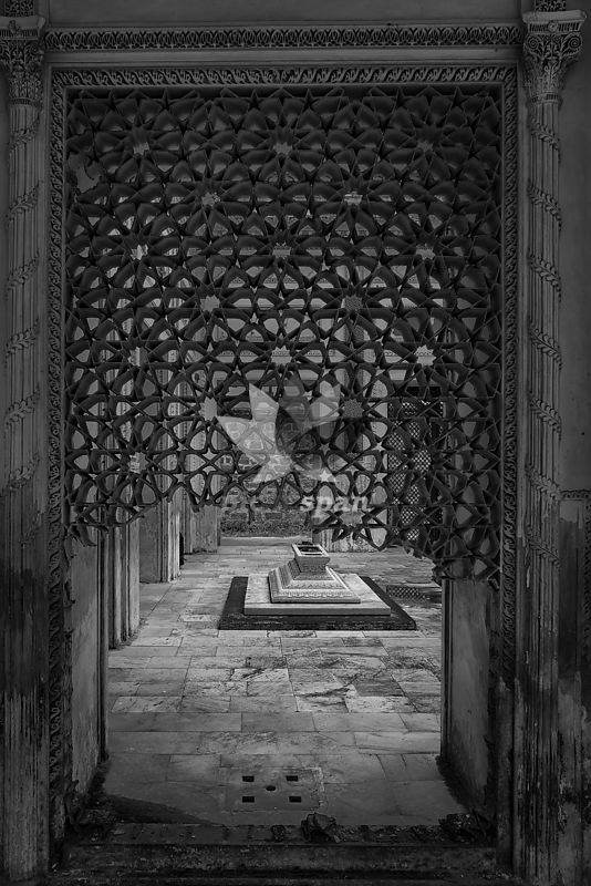 Paigah Tomb - Royalty free stock photo, image