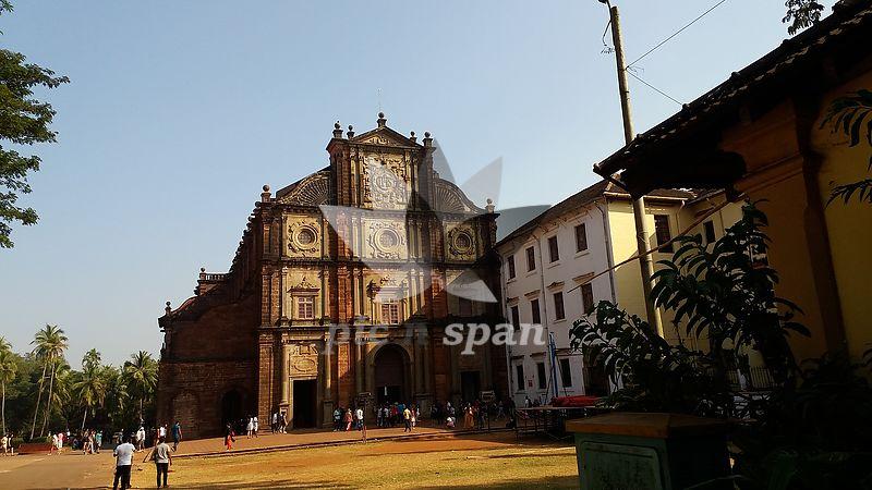 Old Goa Church - Royalty free stock photo, image