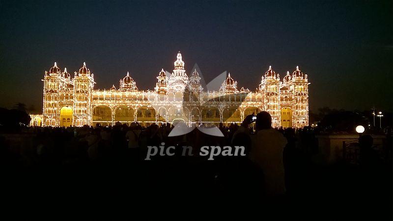 Mysuru palace - Royalty free stock photo, image