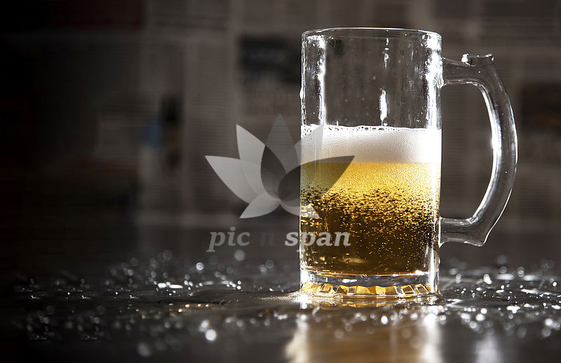 Beer Glass - Royalty free stock photo, image