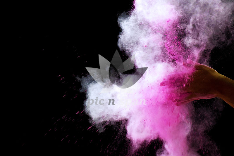 Colour Splash - Royalty free stock photo, image