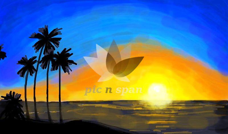 Sunrise - Royalty free stock photo, image