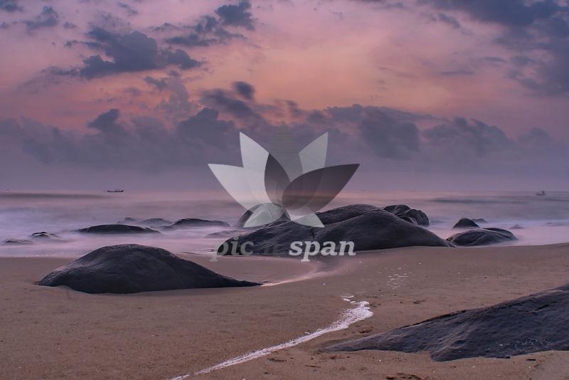 Soft Shores - Royalty free stock photo, image